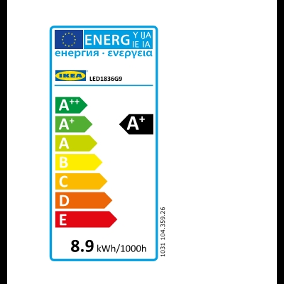 Energy Label Of: 10435926