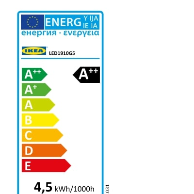 Energy Label Of: 20438707