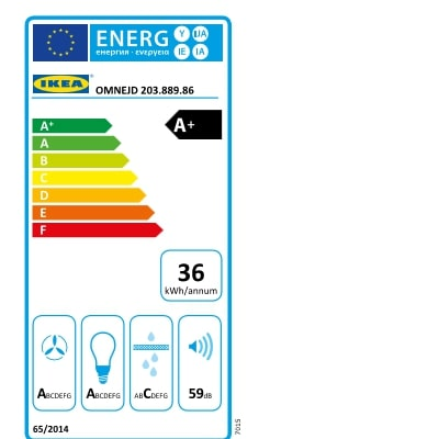 Energy Label Of: 20388986