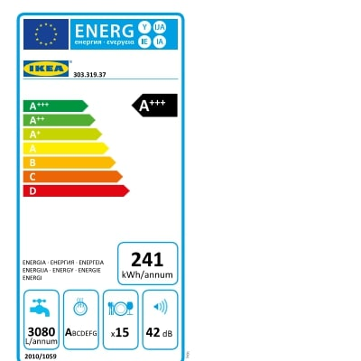 Energy Label Of: 30331937