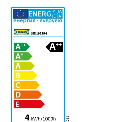 Energy Label Of: 70432878