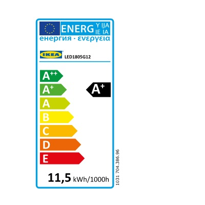 Energy Label Of: 70438696