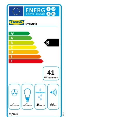 Energy Label Of: 80388969
